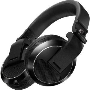 PIONEER HDJ-X7-K Professional DJ Headphone, Black, Universal (HDJX7K)