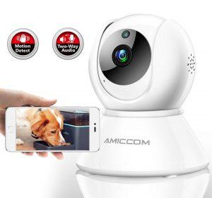 Dog Camera 1080P HD | Wireless IP Pet Monitoring Camera