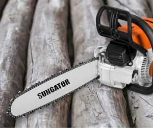"""SUNGATOR 3-Pack 14 Inch Chainsaw Chain SG-S52, 3/8"""" LP Pitch"""