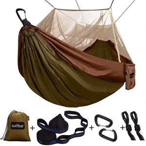 This is the best Single & Double Camping Hammock with Mosquito and Bug Net.