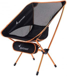 Sportneer Camping Chairs, Portable Ultralight Folding Camp Chair