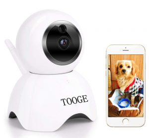 TOOGE Pet Camera | Pet Monitoring Camera for Dogs and Cats