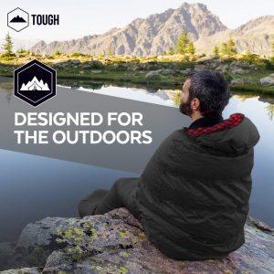 Tough Outdoors All Season Sleeping Bag   winter camping sleeping bag   summer camping sleeping bag