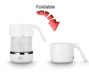 Uwear Foldable Electric Kettle | Collapsible Kettle