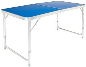 VINGLI Folding Picnic Table with Aluminum Legs, 3 Adjustable Height