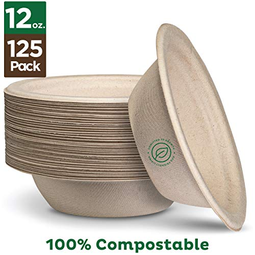 Heavy-Duty Quality Natural Disposable Bagasse | Eco-Friendly Biodegradable Made of Sugar Cane Fibers
