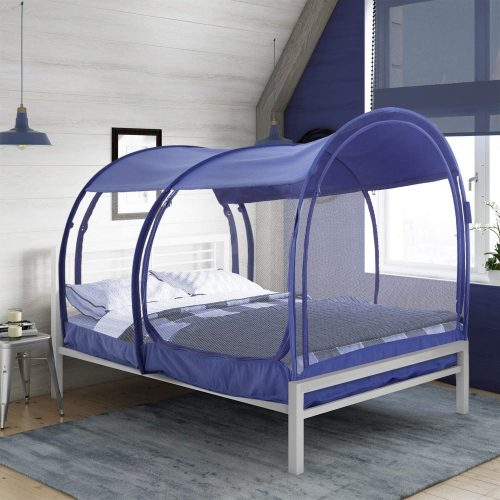 full size bed tent canopy | privacy bed canopy
