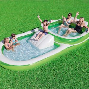 inflatable pool slide for adults