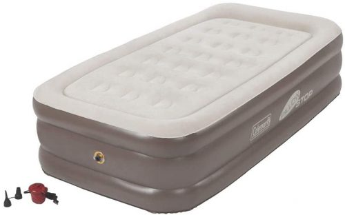 Coleman air mattress for camping