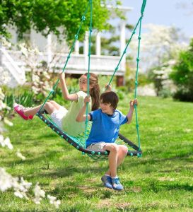 outdoor tree swing