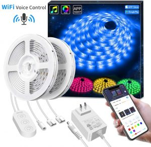 Wireless Smart Phone APP Control Light Strip for Home decoration