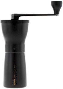 Hario Mini Slim Pro - Ceramic Coffee Mill, Pro Black