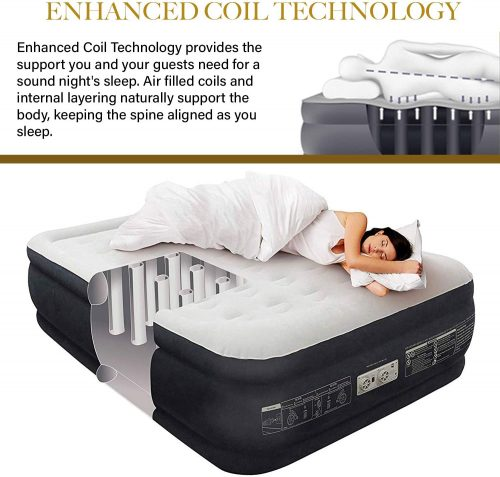 queen air mattress from King Koil