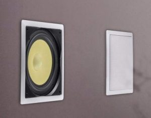 in wall subwoofer polk