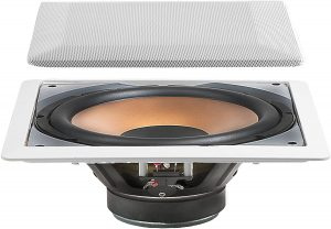 best active in wall subwoofer for home and restaurant