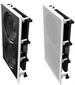best active in wall subwoofer