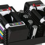 powerblock sport 50 lb adjustable dumbbell set