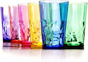 Tritan Plastic Cups - BPA Free - Dishwasher Safe