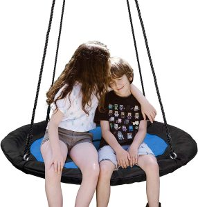 children's tree swing with Adjustable Hanging Ropes for Kids, Adults and Teens