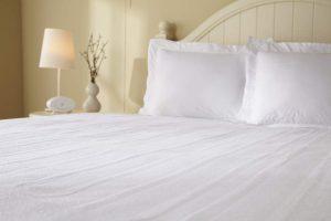 sunbeam therapeutic heated mattress pad | dual heating and cooling mattress pad