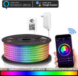 best led strip lights google home & alexa led lights