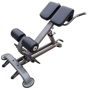 Element Fitness Hyper Extension Bench Black/Grey