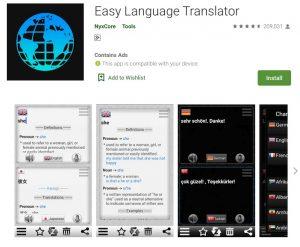 Easy Language Translator apps