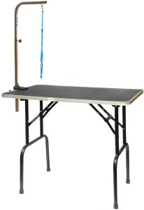 qaqa professional foldable dog grooming table