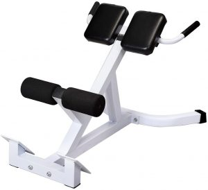 Goujxcy Roman Chair Back Hyperextension Bench