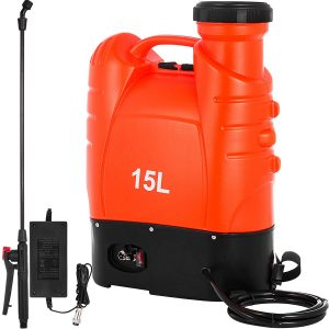 Happybuy Battery Powered Backpack Sprayer 4 Gallon Battery Operated Sprayer