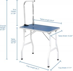 dog grooming tables and accessories
