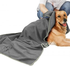Microfiber Dog Drying Towel for Small, Medium, Large Dogs and Cats