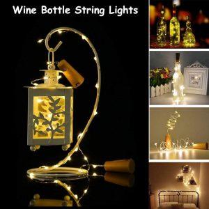 wine bottle lights for sale