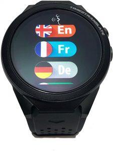 29 Langauges Real-Time Translation, SIM Card Operated translator smartwatch