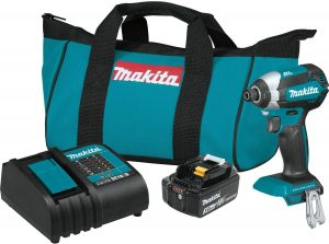 Makita XDT131 18V LXT Lithium-Ion Brushless Cordless Impact Driver Kit