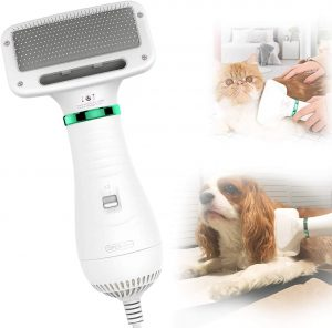 PETRIP Dog Hair Dryer Pet Dryer Professional Grooming Blower Dog Slicker Brush for Large Medium Small Dog Cat.jpg