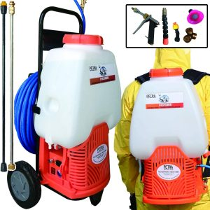 Petra Powered Backpack Sprayer with Custom Fitted Cart