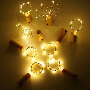 wine bottle lights primitives by kathy