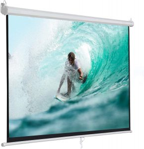 foldable projector screen with stand