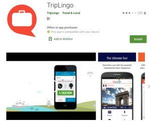 TripLingo Translator apps