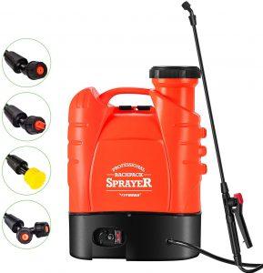 VIVOSUN 4 Gallon Battery Powered Backpack Sprayer Electric Pump Sprayer