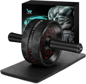 Ab Wheel Roller for Home Gym, Ab Workout Equipment for Abdominal Exercise