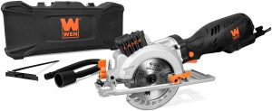 Beveling Compact Circular Saw with Laser and Carrying Case