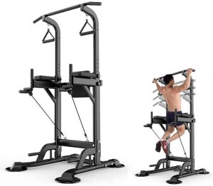 stamina pull up and dip station