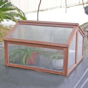 small cold frame greenhouse Raised Flower Planter Protection