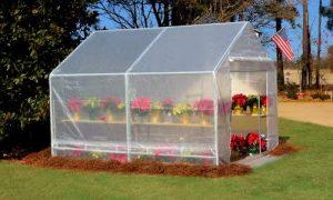 aluminium cold frame mini greenhouse