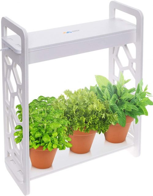 Mindful Design LED Indoor Herb Garden with Timer