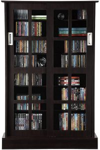 atlantic multimedia storage cabinet