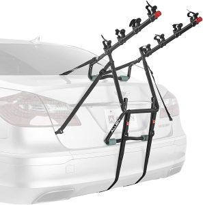 trunk mounted 4 bike rack