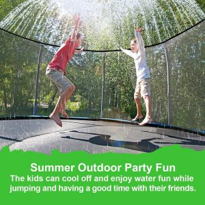 trampoline water sprinkler forum